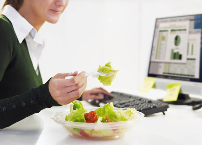 How to Lose Weight at office