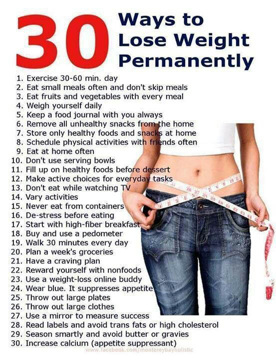 Lose Weight Sensibly and Permanently