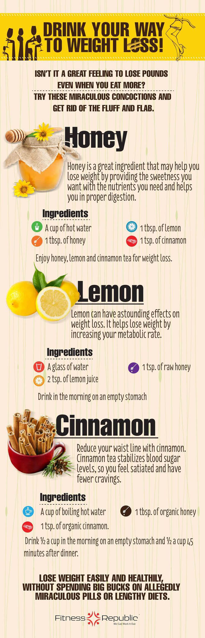 healthy weight loss drink recipes